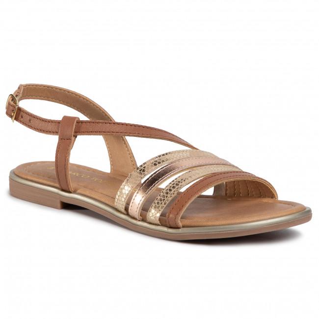 Sandals MARCO TOZZI - 2-28143-24 Cognac Comb 392