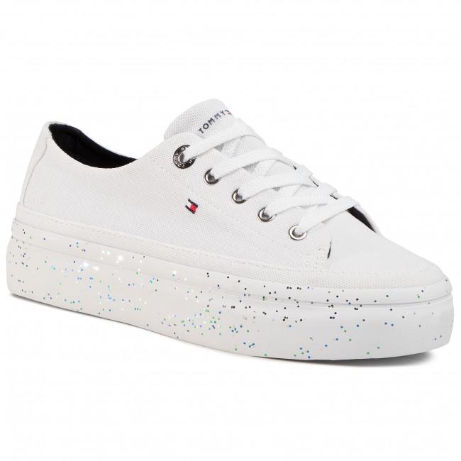 Glitter Platform Sneaker FW0FW04693
