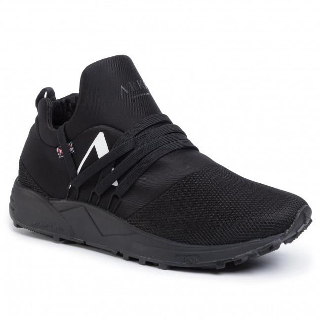 Sneakers ARKK COPENHAGEN Raven Mesh Hl S E15 Vibram TE1400 99 10 M Black White