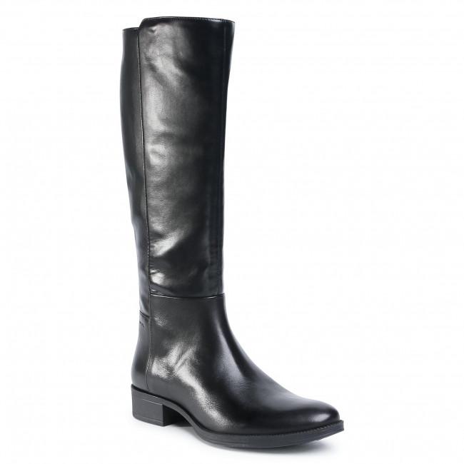 Jackboots GEOX - D Laceyin E D04BFE 05443 C9999  Black