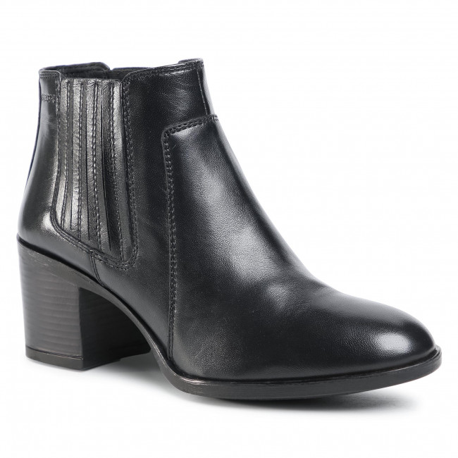 Ankle boots GEOX - D New Ashell A D04FSA 000TU C9999  Black