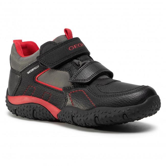 Boots GEOX - J Baltic B.B J042YA 0CEBU C0048 S  Black/Red