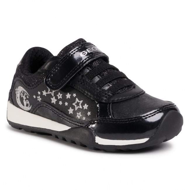 Pagar tributo nombre de la marca cocinar una comida  Trainers GEOX - J Jocker Plus G.A J04AUA 0HIBC C9244 M Black/Dk Silver -  Velcro - Low shoes - Girl - Kids' shoes | efootwear.eu