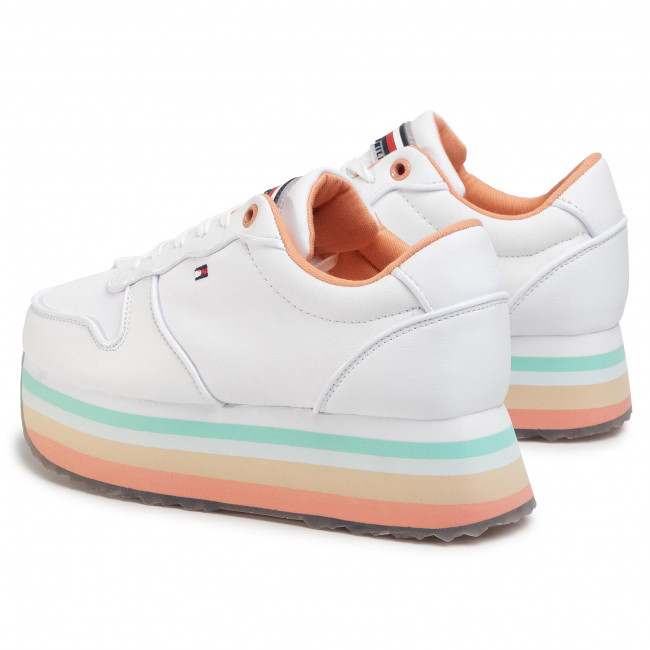 Tommy Hilfiger Flatform Runner Colour Sneaker Plateau Sneaker