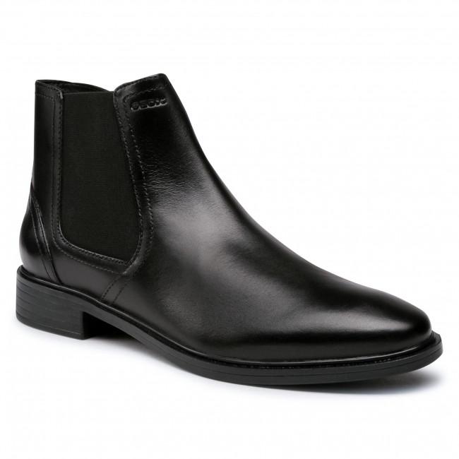 GEOX U Gladwin A Men Schuhe Herren Chelsea Boots Stiefeletten U044WA00043C9999