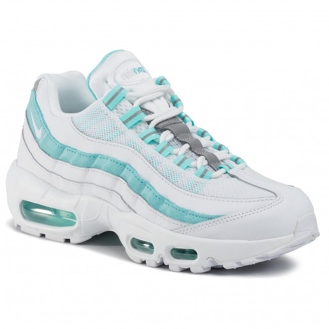 Shoes NIKE Air Max 95 307960 115 WhiteWhiteLight Aqua