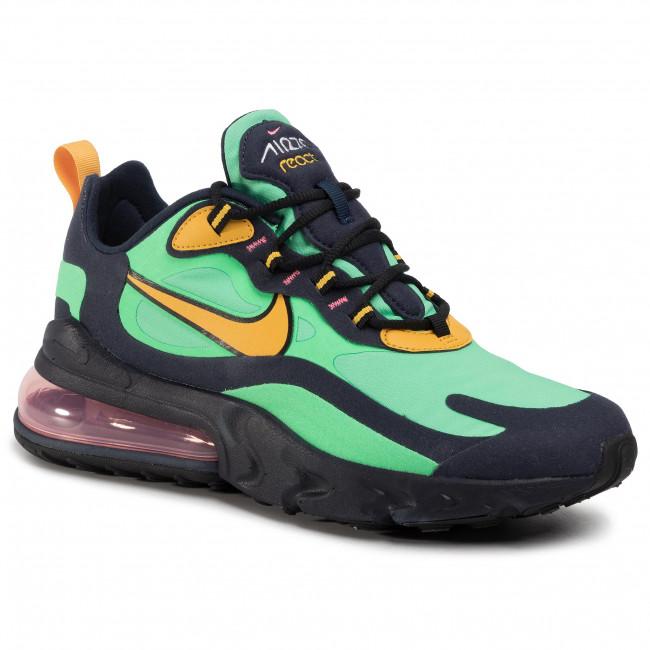 Shoes NIKE Air Max 270 React AO4971 300 Electro GreenYellow Ochre