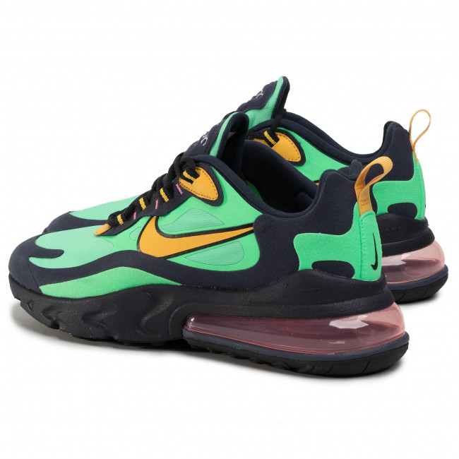 Halar Gobernable Indomable  Shoes NIKE - Air Max 270 React AO4971 300 Electro Green/Yellow Ochre -  Sneakers - Low shoes - Men's shoes | efootwear.eu