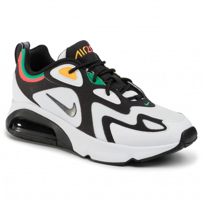 Shoes NIKE Air Max 200 AQ2568 101 WhiteBlackBright Crimson