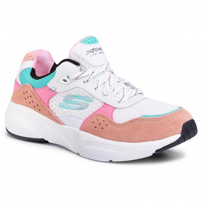 Fácil de suceder Esencialmente Astrolabio  Sneakers SKECHERS - Charted 13019/WPKB White/Pink/Blue - Sneakers - Low  shoes - Women's shoes | efootwear.eu