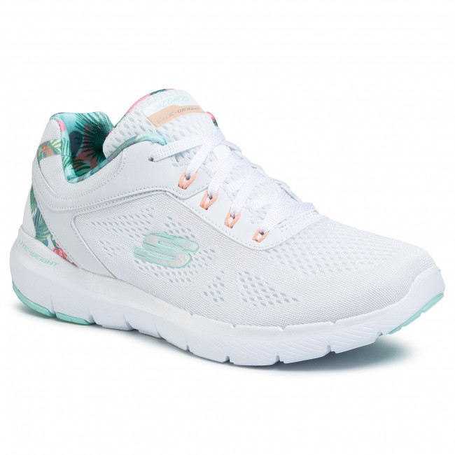 Shoes SKECHERS - Tropical Princess 149002/WMNT  White