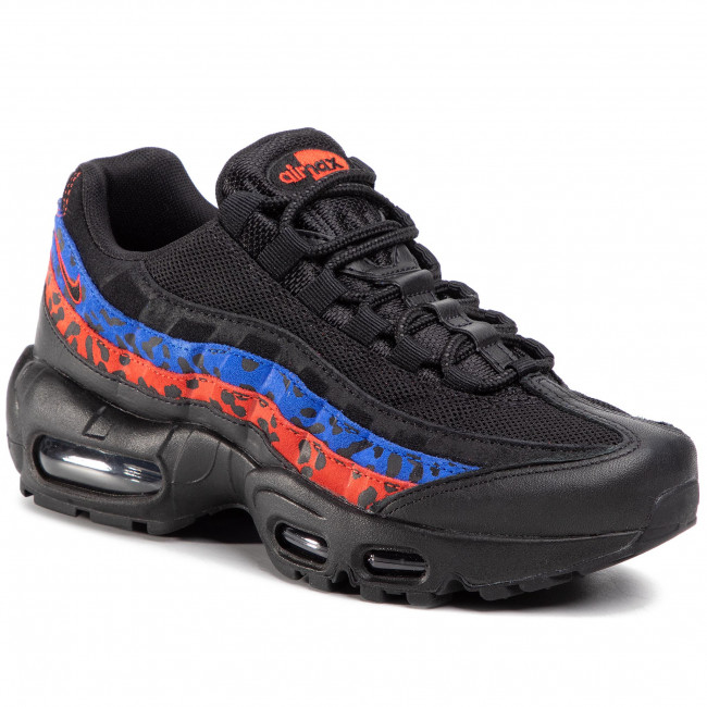 Mira superstición temporal  Shoes NIKE - Air Max 95 Prm CD0180 001 Black/Black/Habanero Red - Sneakers  - Low shoes - Women's shoes | efootwear.eu