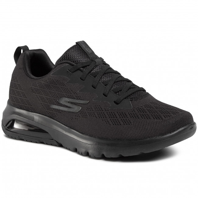 Shoes SKECHERS Go Walk Air Nitro 54491BBK Black Fitness Wszq8