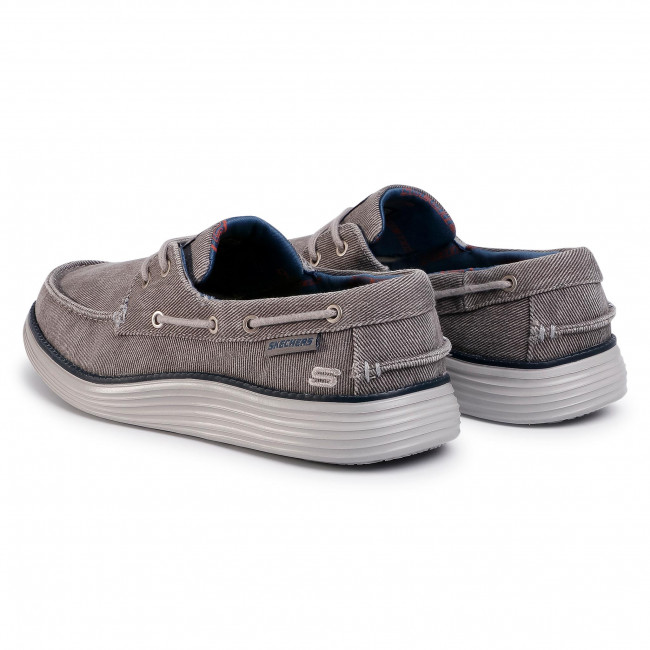 Chimenea Teseo Pase para saber  Shoes SKECHERS - Lorano 65908/LTGY Light Grey - Casual - Low shoes - Men's  shoes | efootwear.eu