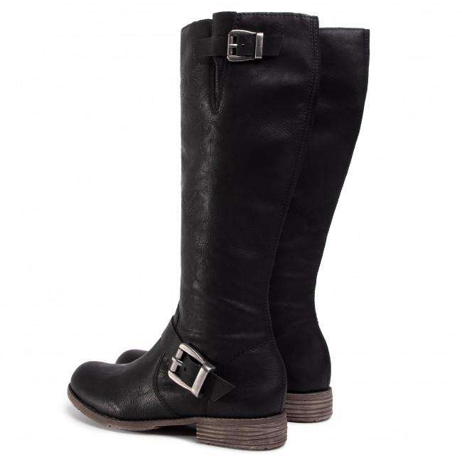 Rieker women boot black 74787 00