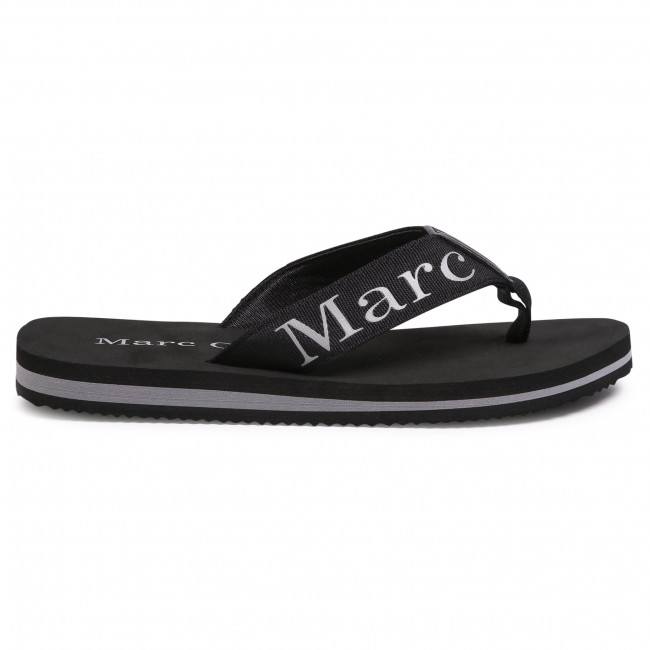 Slides Marc O'polo - 003 25071001 600 Black 990 Flip-flops Mules And Sandals Men's Shoes