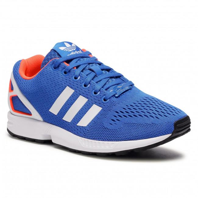 Footwear adidas - Zx Flux FW0028 Blue/Ftwwht/Solred