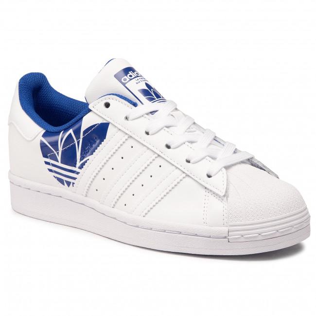 Footwear adidas - Superstar FY2826 Ftwwht/Ftwwht/Royblu