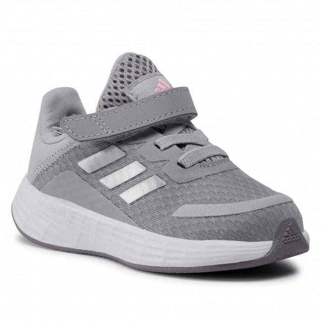 Adviento gritar Maduro  Footwear adidas - Duramo Sl I FX7317 Glory Grey/Silver Metallic/Light Flash  Orange - Velcro - Low shoes - Boy - Kids' shoes | efootwear.eu