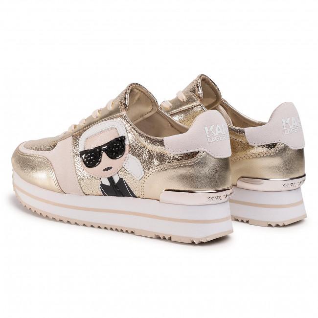 Sneakers KARL LAGERFELD - KL61933 Gold