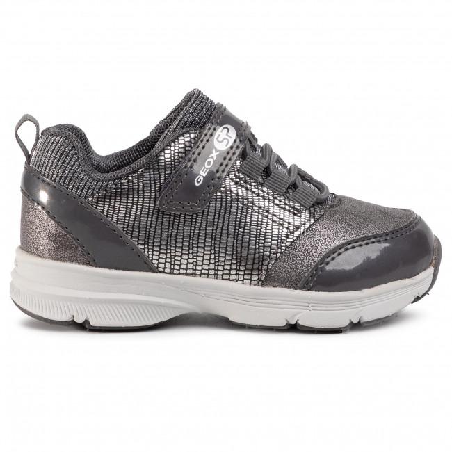 Sneakers GEOX J Hoshiko G. B J844SB 0HIPV C1469 M Dk SilverSilver