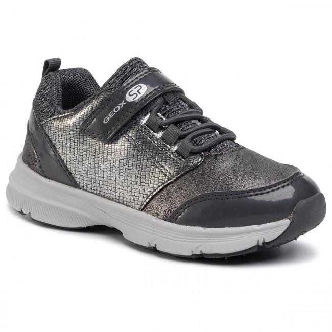 Sneakers GEOX J Hoshiko G. B J844SB 0HIPV C1469 S Dk SilverSilver