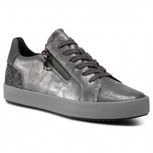 Contestar el teléfono Prever cristiandad  Trainers GEOX - D Blomiee A D026HA 0PVEW C9004 Anthracite - Sneakers - Low  shoes - Women's shoes | efootwear.eu