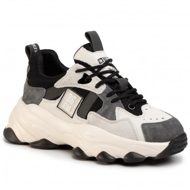 Sneakers BIG STAR - FF274A558 Black/Grey
