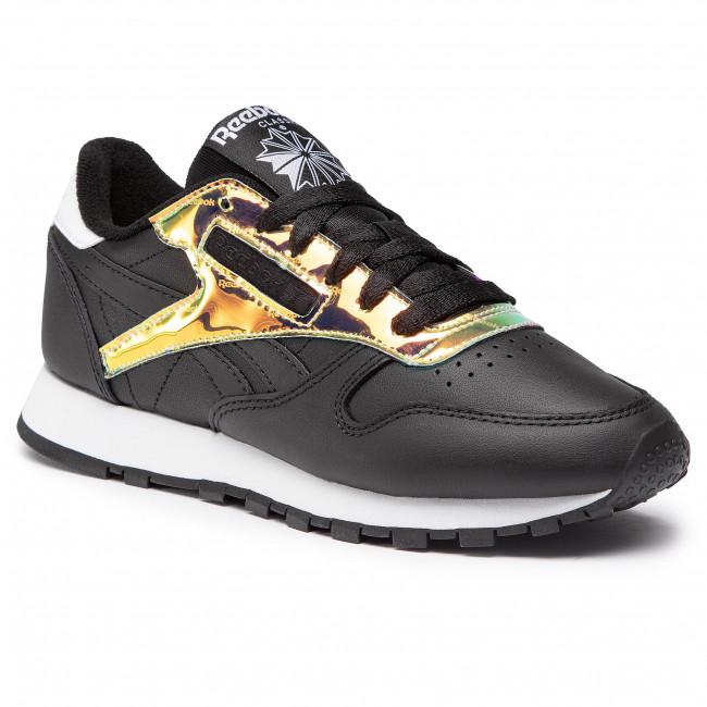 Footwear Reebok - Cl Lthr FW6165 Black/White/Black