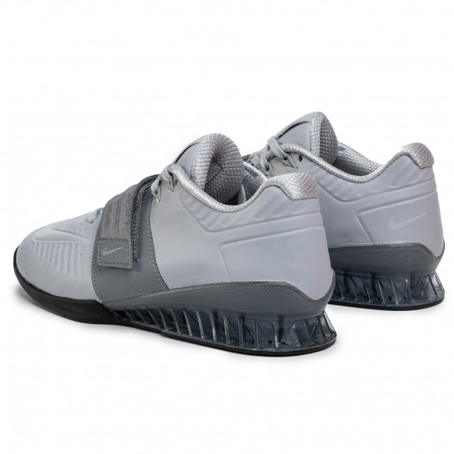 diseño encantador servicio duradero diseño innovador Shoes NIKE - Romaleos 3 Xd AO7987 010 Wolf Grey/Cool Grey/Black ...