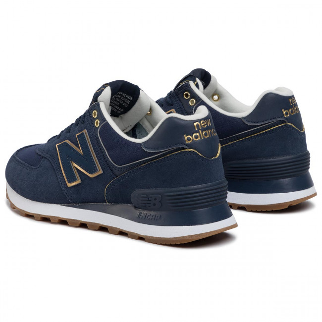 Sneakers NEW BALANCE - WL574SOC Navy Blue - Sneakers - Low shoes ...