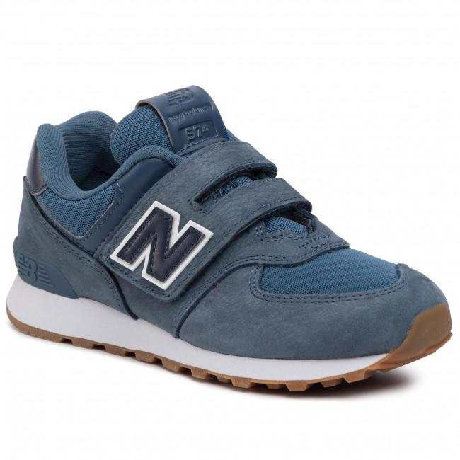 new balance bambino blu elettrico
