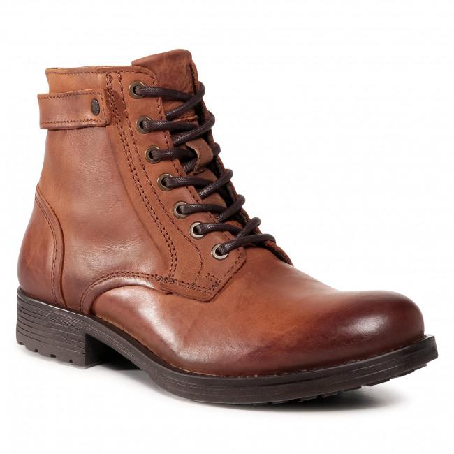 Knee High Boots JACK&JONES - Jfwangus 12175948 Cognac