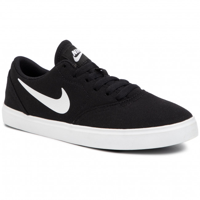 precio Propuesta alternativa Dormitorio  Shoes NIKE - Sb Check Cnvs (GS) 905373 003 Black/White - Sneakers ...