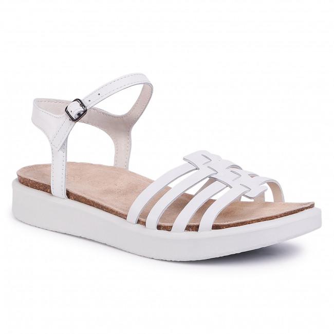 Sandals ECCO - Corkshphere Sandal 27183301002  Bright White