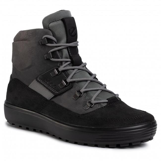 Boots ECCO - Soft 7 Tred M 45027452570 Black/Titanium