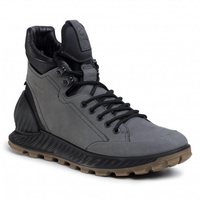 Knee High Boots ECCO - Exostrike 83230401602 Dark Shadow