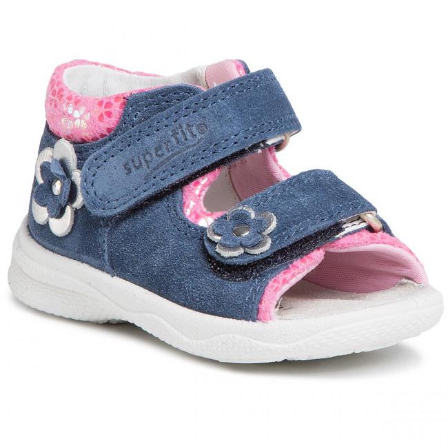 Sandals SUPERFIT - 6-00095-81 M Blau/Rosa