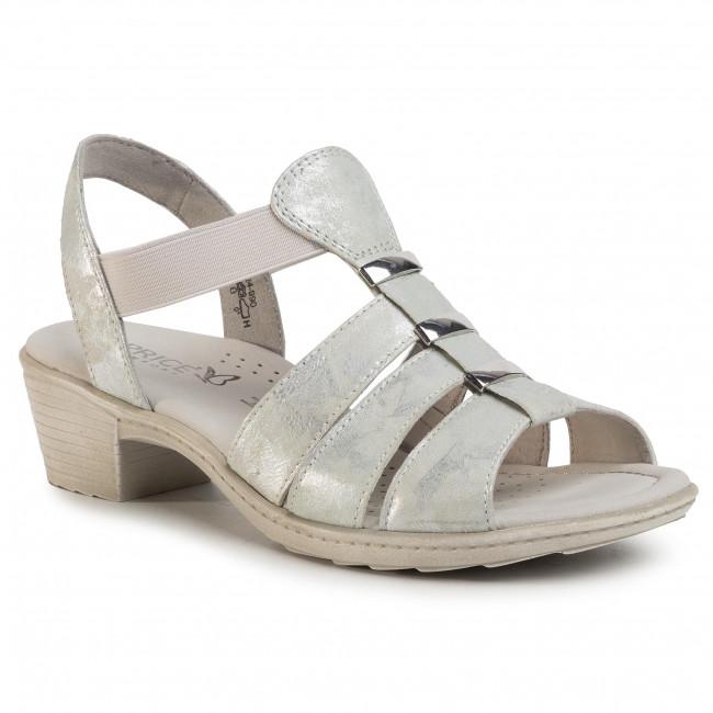 Sandals CAPRICE - 9-28253-24 Silver Foil 990