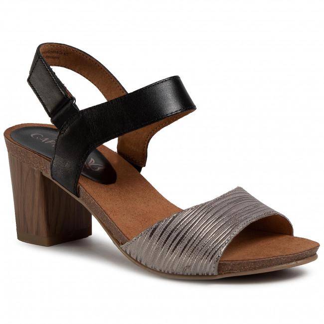 Sandals CAPRICE - 9-28318-24 Black Comb 019