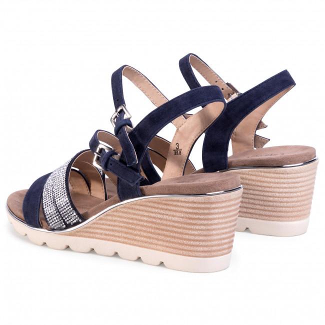 Gabor Sandals 828 Black Gabor in 2020 | Womens sandals