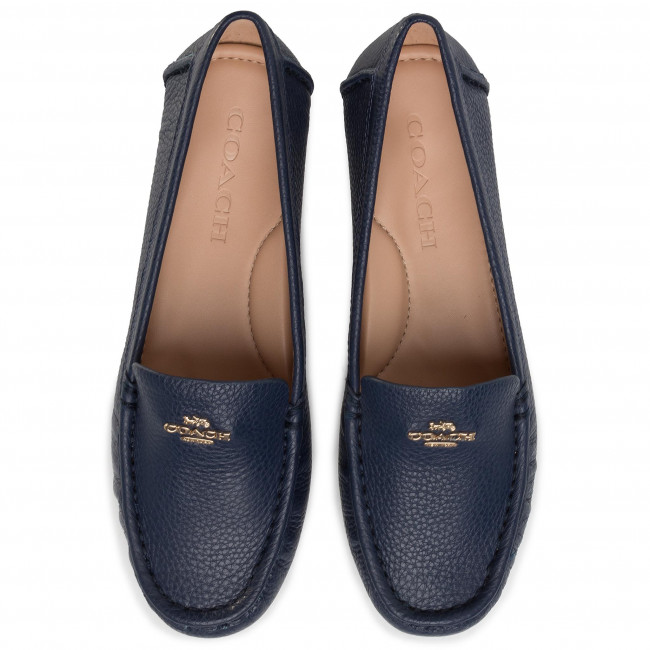 Moccasins Coach - Marley Driver Ltr G4835 11002151 True Navy Low Shoes Women's