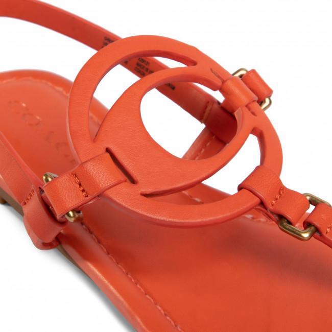 Sandals Coach - Jeri Leather Sandal G4910 110002650 Geranium Casual Mules And Women's Shoes