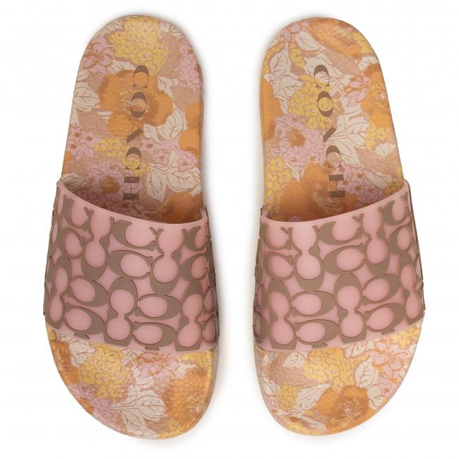 Slides Coach - Udele Sig Rub Slide G4930 11001677 Aurora/mushroom Casual Mules And Sandals Women's Shoes