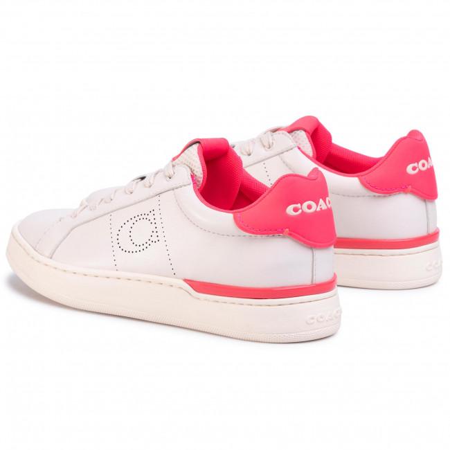 Sneakers Coach - Lowline Ltr Low Top G5040 10011275 Chalk/neon Pink Shoes Women's