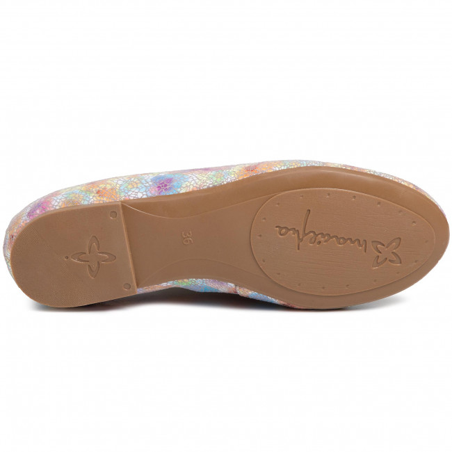 Flats Maciejka - 01350-39/00-5 Multkolor Ballerina Shoes Low Women's