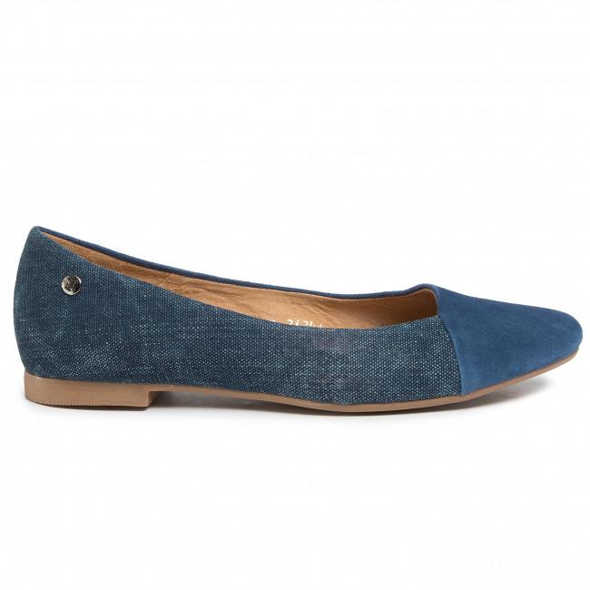 Flats Maciejka - 01803-17/00-5 Granat Ballerina Shoes Low Women's