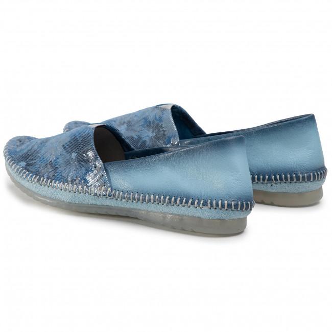 Shoes Maciejka - 01930-72/00-0 Jasny Niebieski/kwiatki Flats Low Women's