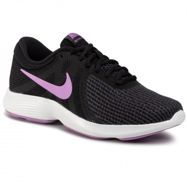 Cien años siga adelante junio  Shoes NIKE - Revolution 4 Eu AJ3491 011 Black/Fuchsia Glow/Oil Grey -  Indoor - Running shoes - Sports shoes - Women's shoes | efootwear.eu