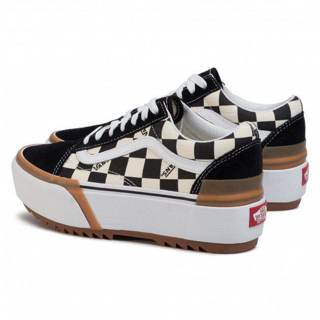 Plimsolls VANS Old Skool Stacked VN0A4U15VLV1 (Checkerboard) MultiTrue